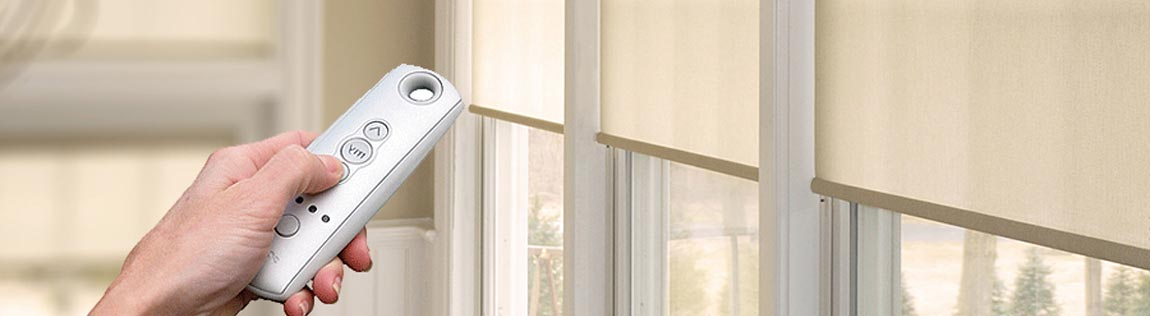 Somfy Motorisation for Window Blinds