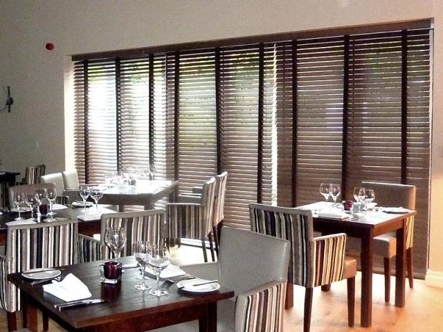 Bandalux Wood Venetians, Restaurant