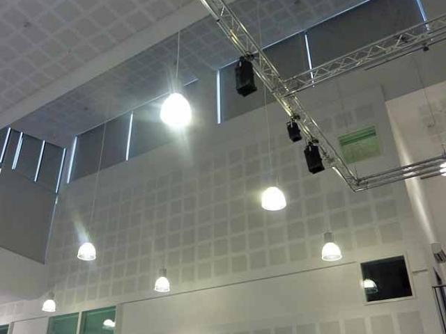 Perfect Blinds King David Campus Contract Roller Blinds Installation