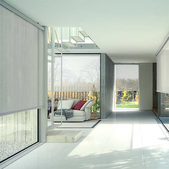 Bandalux O-Box Roller Blind from Perfect Blinds
