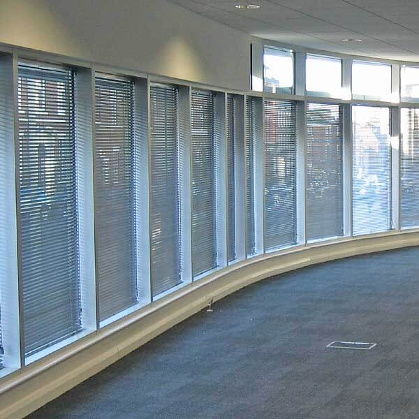 Perfect Blinds Liverpool Science Park Contract Venetian Blinds Installation