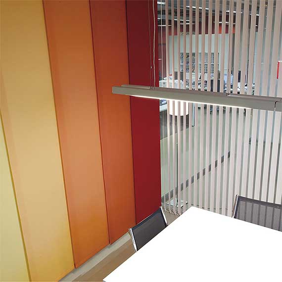 Bandalux Sliding Panel Blinds from Perfect Blinds