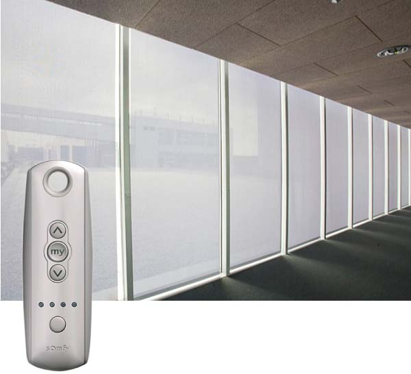 Window Blinds for Smart Buildings