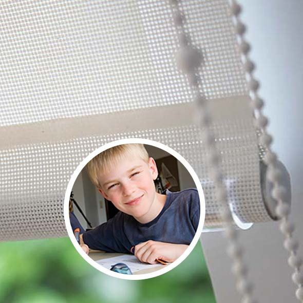 Child-Safe School Blinds