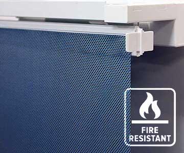 Fire Retardant Window Blinds Fabric