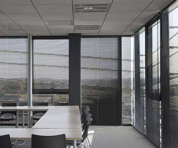 Aluminium venetians for offices