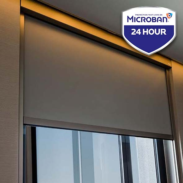 Hygienic Fabric blinds for Hotel and Restaurants Sector