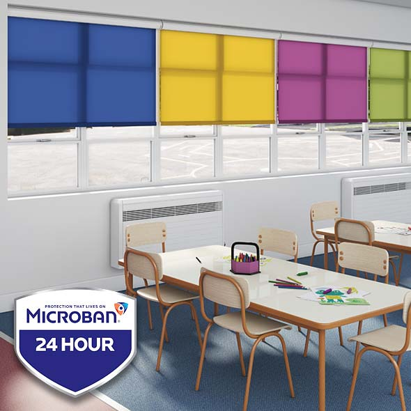 Microban Hygienic School Blinds