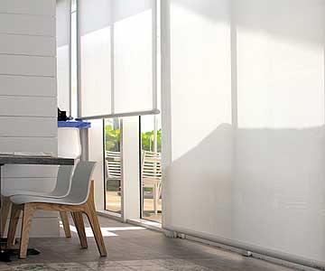 Roller blinds for commercial businesses