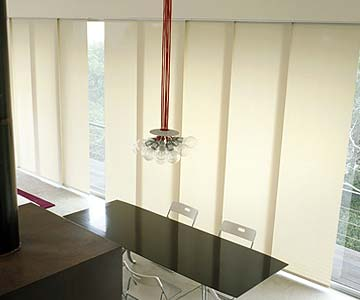 Panel blinds for meting rooms