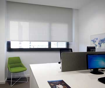 Medical Office Roller Blinds