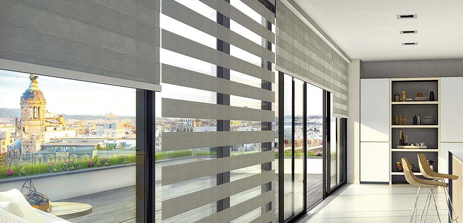 Vision blinds for property developments